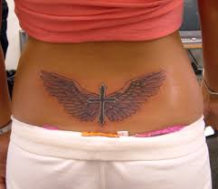 ideas 30 appealing lower back cross tattoos