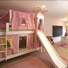 Best Loft Bed With Slide Images On Pinterest  Beds Lofted - Girls bunk beds with slide