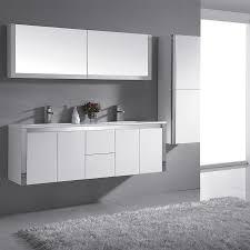 Ove Decors Bathroom Vanities Shop Ove Decors Lelio Gloss White Integral Sink Bathroom