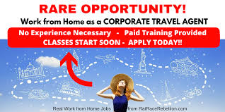 travel agent jobs images Work from home as a travel agent paid training provided no png