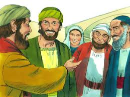 Saul Blind The Big Change A Story About Saul On The Road To Damascus By