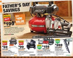 home depot black friday porter cable home depot ad deals for 6 13 6 19 father u0027s day savings