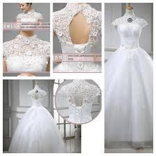 wedding dress murah jakarta wedding dress gaun pengantin dada bordir korea 2015 elevenia