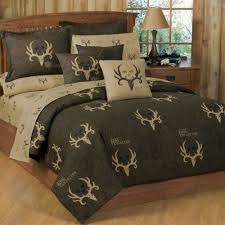 Tan Comforter Shop Bone Collector Brown U0026 Tan Bed Covers The Home Decorating