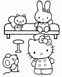 227 coloring kitty images kitty