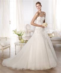 a line princess wedding dress a line princess scalloped sweetheart lace draped tulle wedding dress