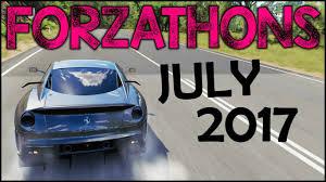 all forzathons july 2017 ferrari 599xx horizon editions fh3