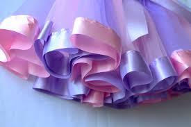 purple tulle pettiskirt baby diy tutu net yarn skirts pink purple tulle