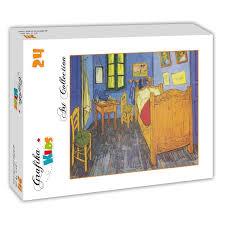 la chambre à coucher de vincent gogh puzzle vincent gogh la chambre de gogh à arles 1888