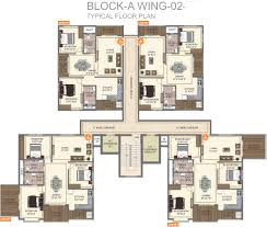 1 2 3 bhk cluster plan image disha dwellings central park for