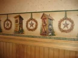 country bath wallpaper border by york bathroom wallpaper border