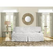 sofa slipcover diy living room aftm diy dyed sofa piece t cushion slipcover