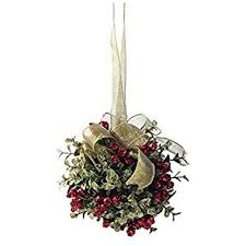 ganz 5 inch mistletoe ornament home