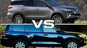 youtube lexus vs bmw 2016 toyota fortuner vs 2016 toyota land cruiser youtube