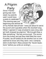 pilgrims activities worksheets printables and lesson plans