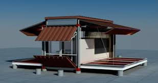 shipping container house that is expandable and comfortable