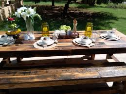 kirby built picnic tables custom made barn table by woodsy pallet works llc custommade com