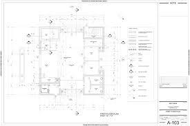 Floor Plan Bank by Jeff Hibbs Drafting Portfolio Autocad Drawings