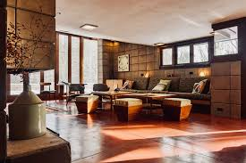 frank lloyd wright living room the frank lloyd wright eppstein house the owner s story mid