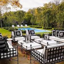 iron outdoor furniture home design