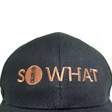 cap designer attitude caps whats the big deal so what designer cap