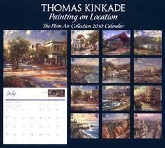where to buy a calendar painting on location 2010 wall calendar kinkade calendars