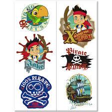 jake land pirates temporary tattoos 12