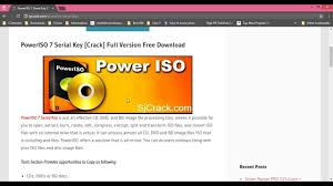 poweriso full version free download with crack for windows 7 poweriso 7 serial key crack full version free download youtube