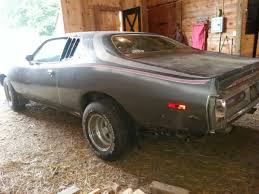 Muscle Car Barn Finds 1974 Dodge Charger Muscle Car Barn Find Project For Sale