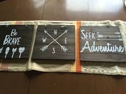 themed signs signs for our adventure themed toddler room stuff i made