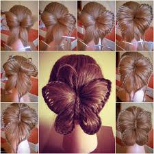 hairstyles with steps how to diy butterfly braid hairstyle