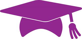 purple graduation cap purple graduation cap clipart 18