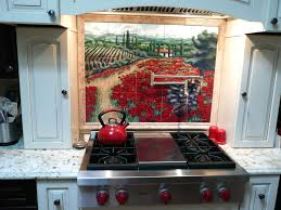 red kitchen backsplash italian backsplash tiles red kitchen tile painting es pictures