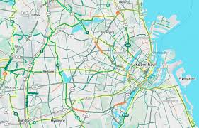 Copenhagen Map Bike To Work With Mapzen U0027s Updated Bike Map Mapzen