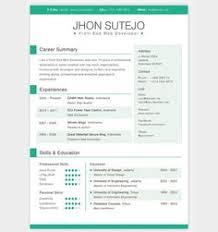 free modern resume templates 2015 free resumejob goodjobresume on pinterest
