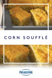 sweet and savory our corn soufflé made with kraft shredded cheese