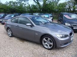 used bmw 3 series uk used bmw 3 series car 2007 grey petrol 320i se 2 door coupe for