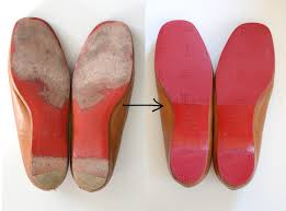 diy strassed christian louboutin ballet flats lollipuff