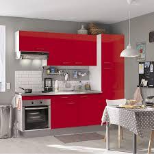Cuisine Rouge Et Grise by Indogate Com Decoration Cuisine Meuble Gris