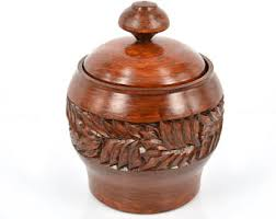 wooden canisters kitchen wooden canister etsy
