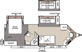Forest River 5th Wheel Floor Plans Access Rv