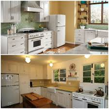 Kitchen Images With White Appliances Sparkling White Kitchens With Big Chill Appliances