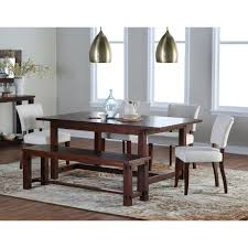 Living Room With Dining Table by Belham Living Bartlett Extension Dining Table Hayneedle