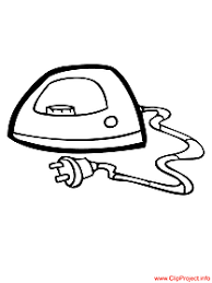 Objects Coloring Pages Coloring Page Iron