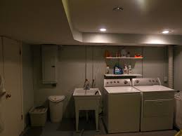 Plumbing In Basement Basement Laundry Room Makeover Esady Real Estate