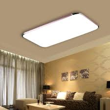 Living Room Ceiling Light Fixture by 40w Led Ceiling Light Wireless Remote Control Suspended Recessed