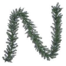 trim a home mixed pine pre lit garland with clear