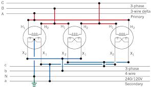 single phase pole mounted transformer wiring diagram wiring