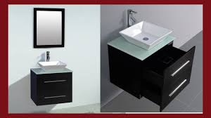 Wall Mount Vanity Sink Bathroom Cabinet Ceramic Porcelain Sink Wall Mount Vanity 24 U201d W