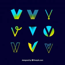 v letter vectors photos and psd files free download